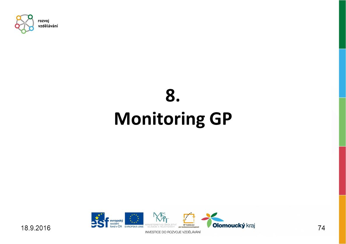8. Monitoring GP 18.9.201674