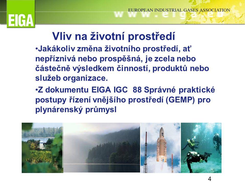 5 Úvod Zařízení na dělení vzduchu (ASU) mají minimální přímý vliv na životní prostředí, a to díky inherentní povaze procesů, jež se v takových zařízeních používají.