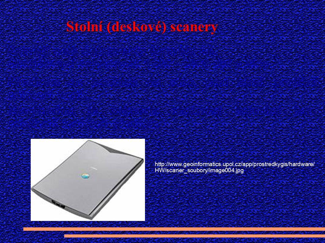 Stolní (deskové) scanery http://www.geoinformatics.upol.cz/app/prostredkygis/hardware/ HW/scaner_soubory/image004.jpg