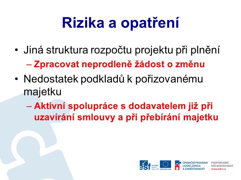 Realizace - udržitelnost Aktualizace požadavků na zajištění udržitelnosti – služby, pracovní místa apod.