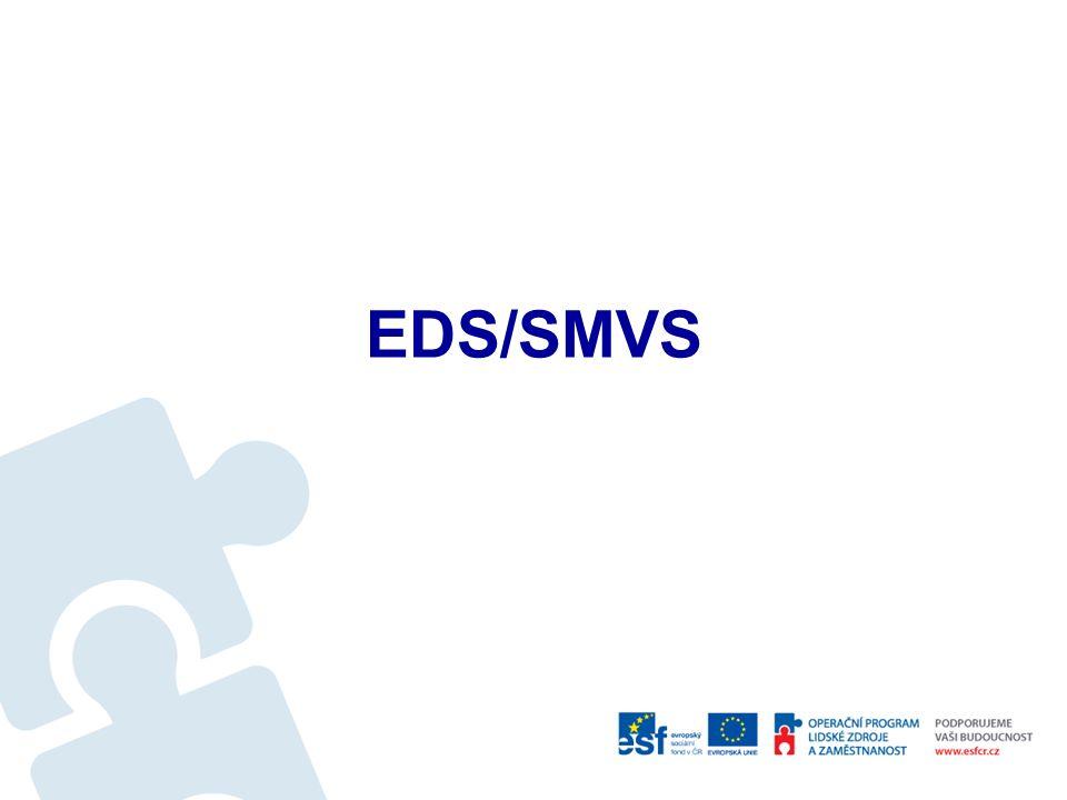Nástroje MF Integrovaný informační systém státní pokladny - IISSP Evidenční dotační systém EDS Systém pro správu majetku ve vlastnictví státu SMVS