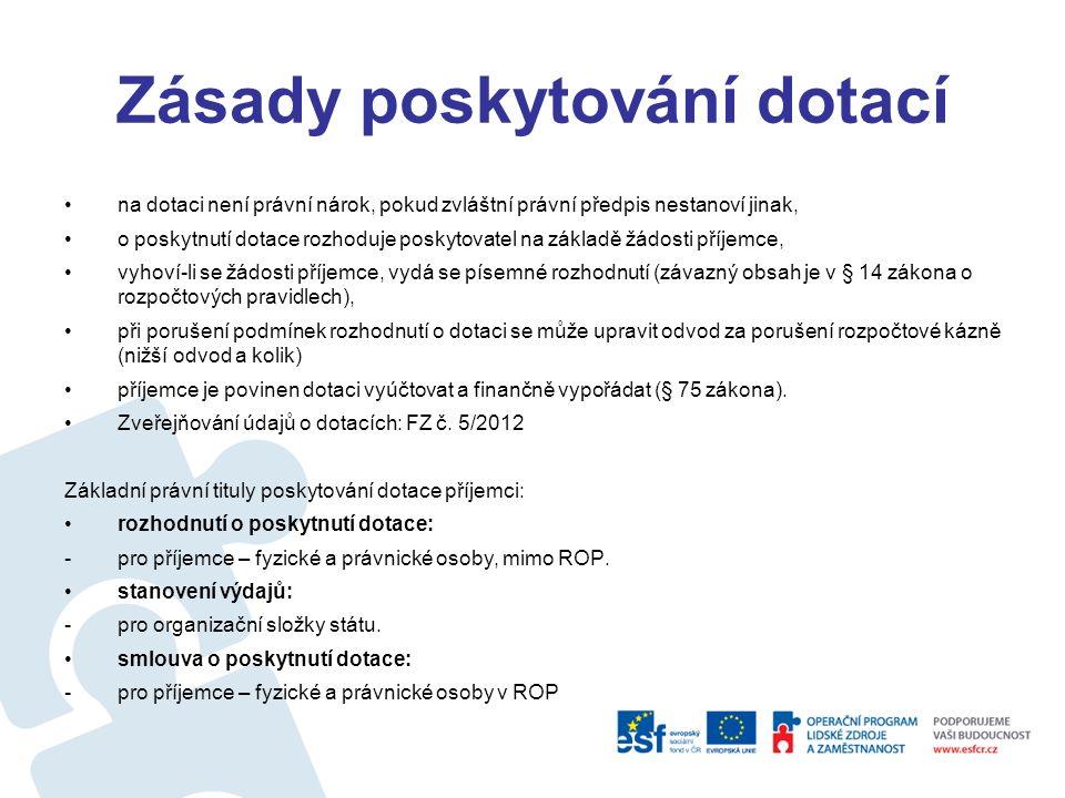 Finanční toky v ČR
