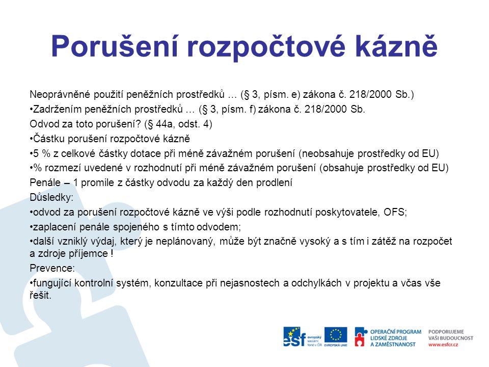 Finanční změny programu V závislosti na proplácení ŽoP, Souhrnných žádostech o platby, certifikaci výdajů (tedy plnění pravidla N+2/3) lze provádět: Revize operačních programů – čl.