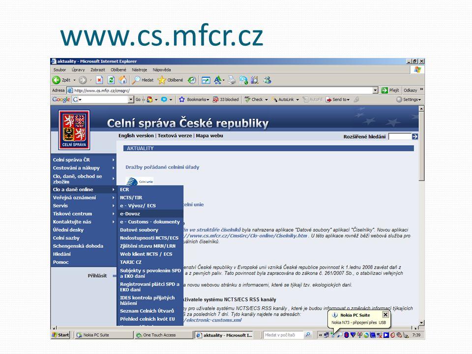 www.cs.mfcr.cz