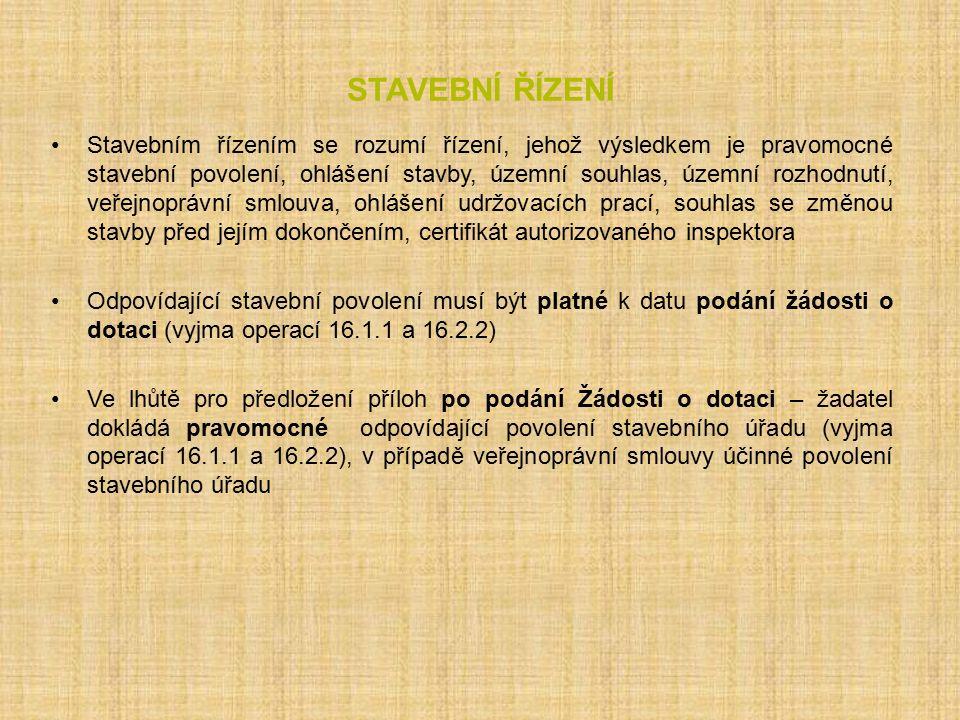 Operace 16.4.1 Preferenční kritéria PořadíKritérium 1.