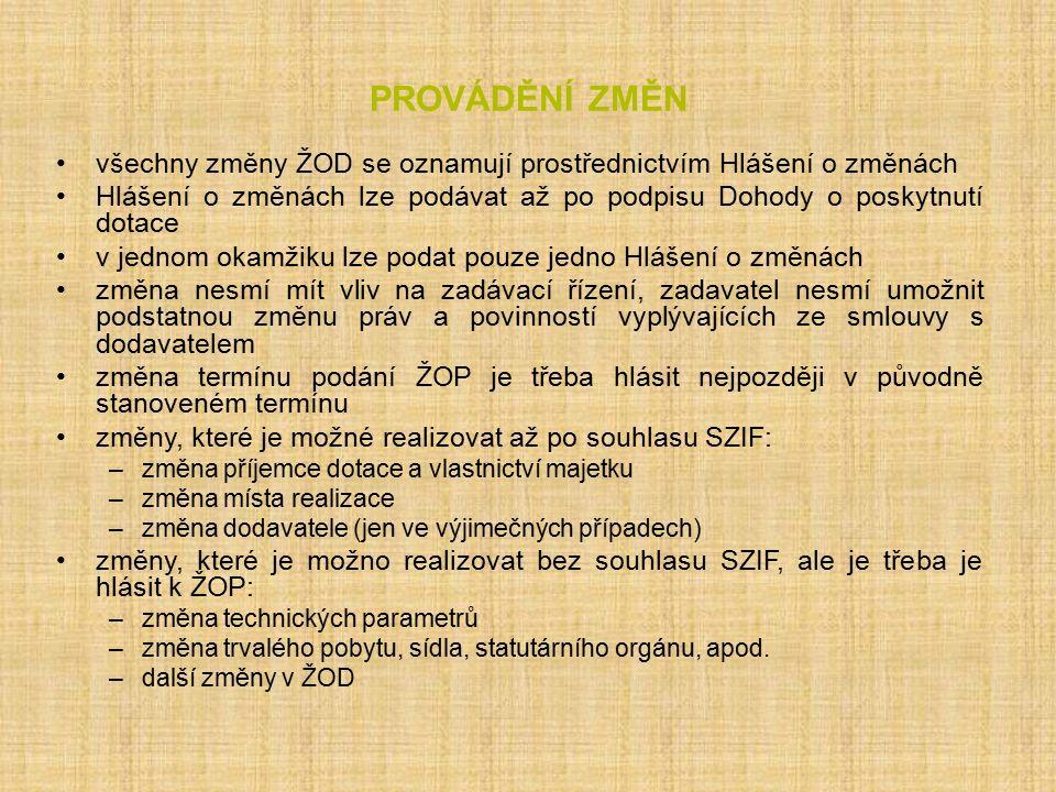 Operace 4.1.1 Kritéria přijatelnosti 4.1.1 (I.) 1.Projekt lze realizovat na území ČR kromě hlavního města Prahy.