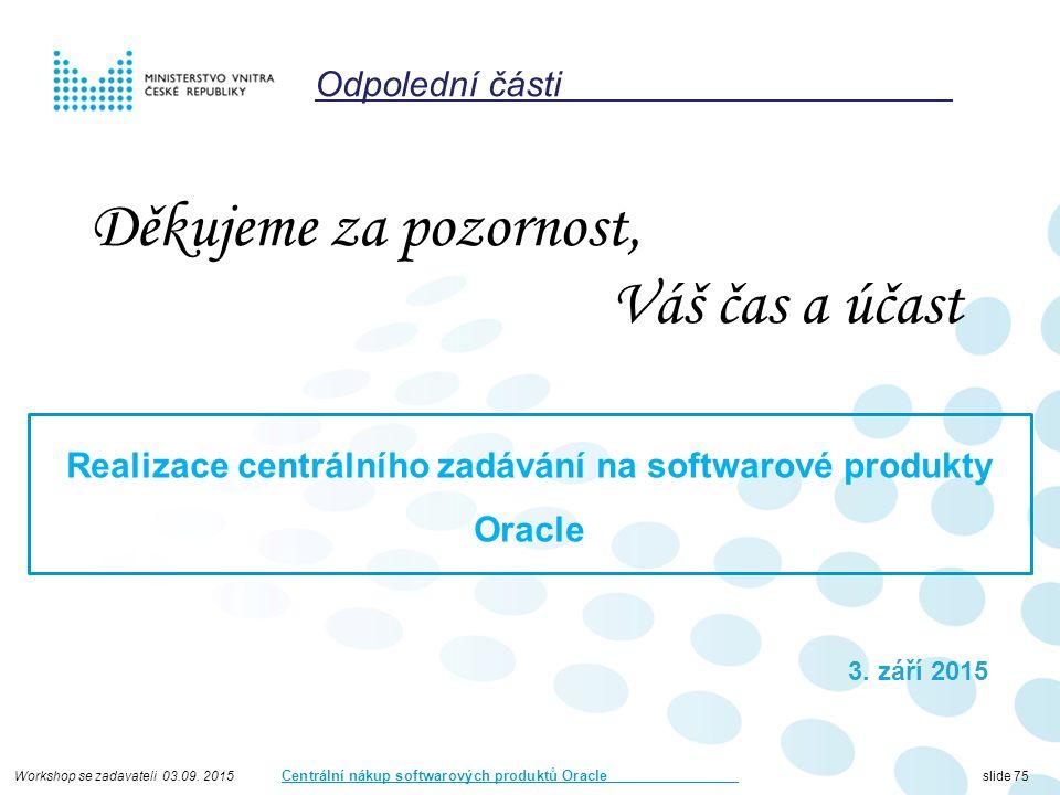Workshop se zadavateli 03.09.