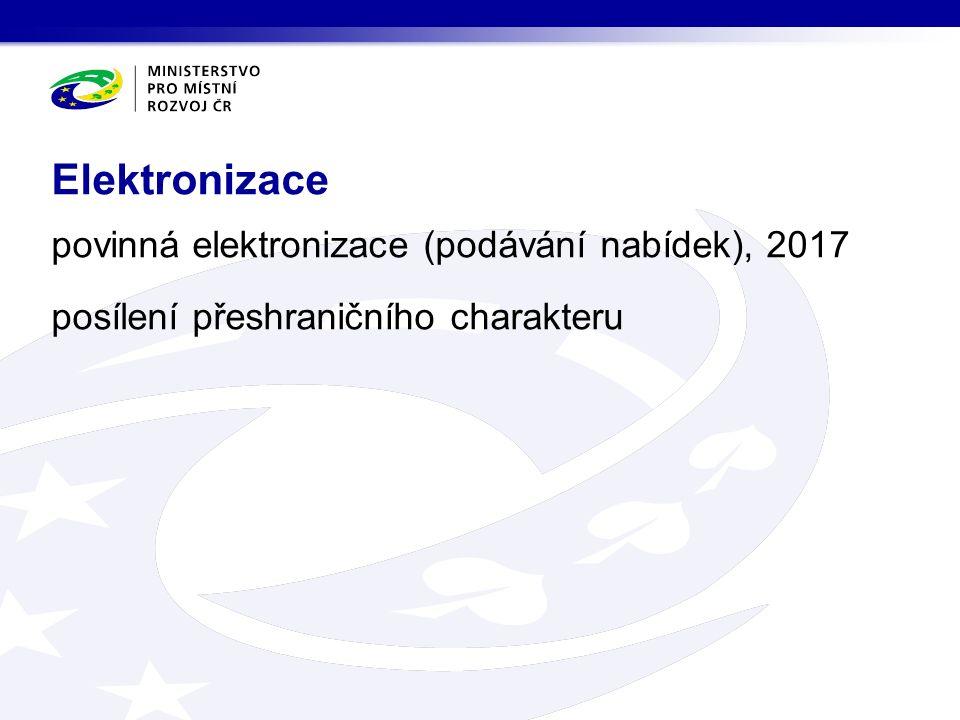 povinná elektronizace (podávání nabídek), 2017 posílení přeshraničního charakteru Elektronizace