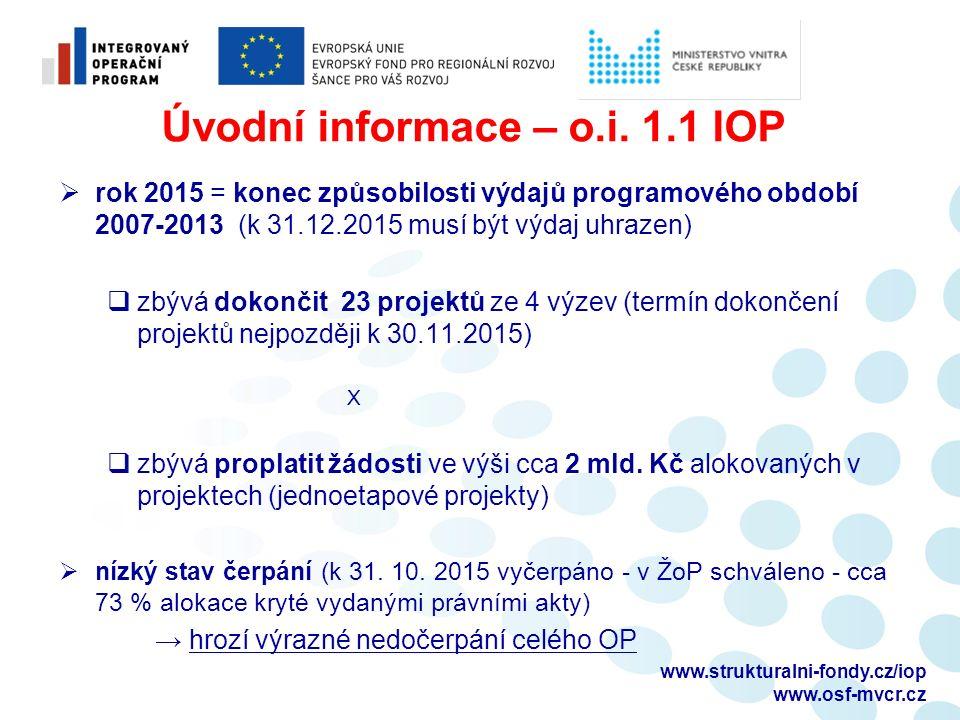 www.strukturalni-fondy.cz/iop www.osf-mvcr.cz Úvodní informace – o.i.