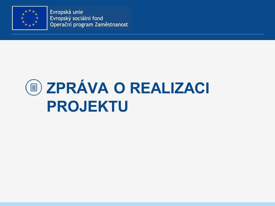 Informování o realizaci Založit novou Zprávu/Informaci Harmonogram informací/zpráv – nová záložka -vygeneruje PM, navázáno na fin.