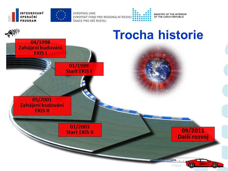 Část EKIS Realizace říjen 2011 - září 2012 upgrade systému na platformu ERP správa dokumentů (smluv) REM – správa a provoz nemovitostí datové úložiště