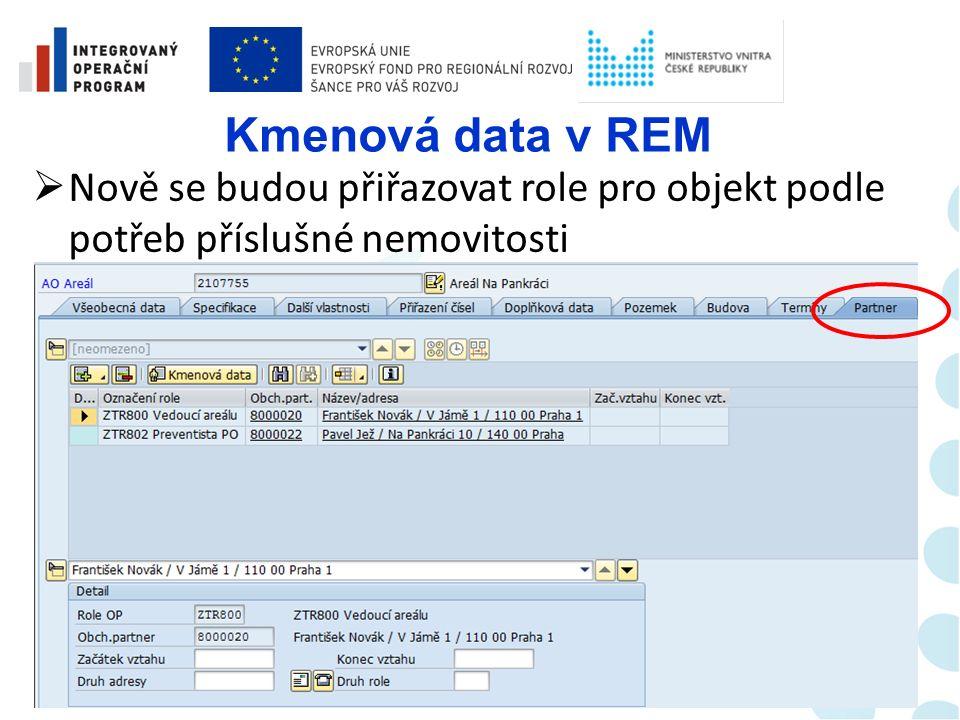 Kmenová data v REM