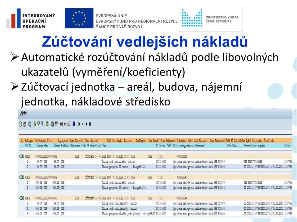 Kmenová data v REM  Automatické propojení na karty Investičního majetku (využívá se v účetnictví REM)