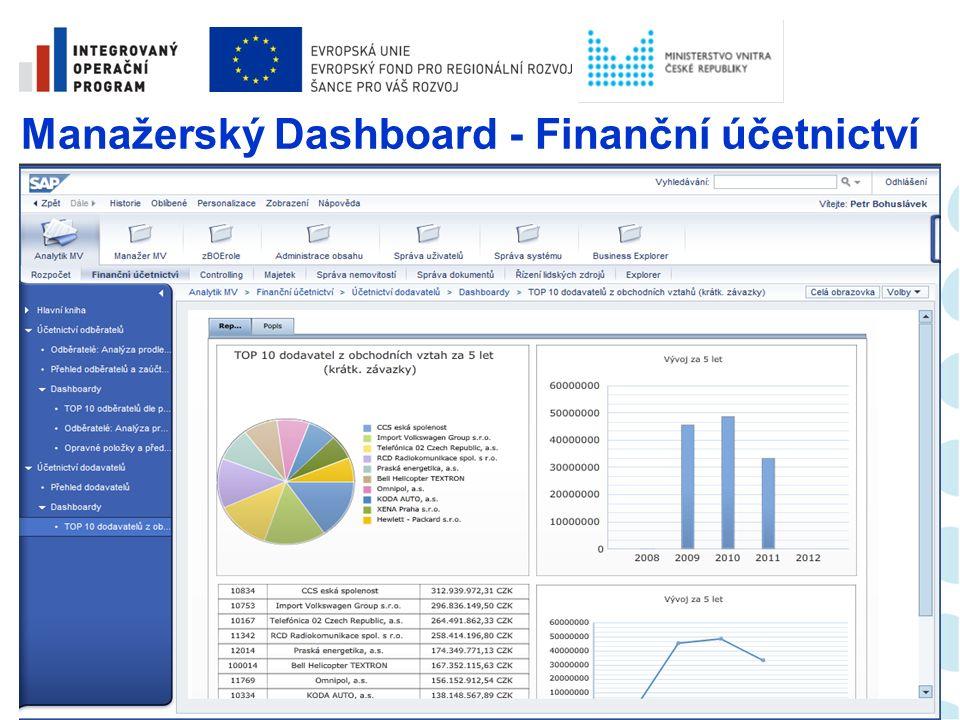 Analytický report – Finanční účetnictví