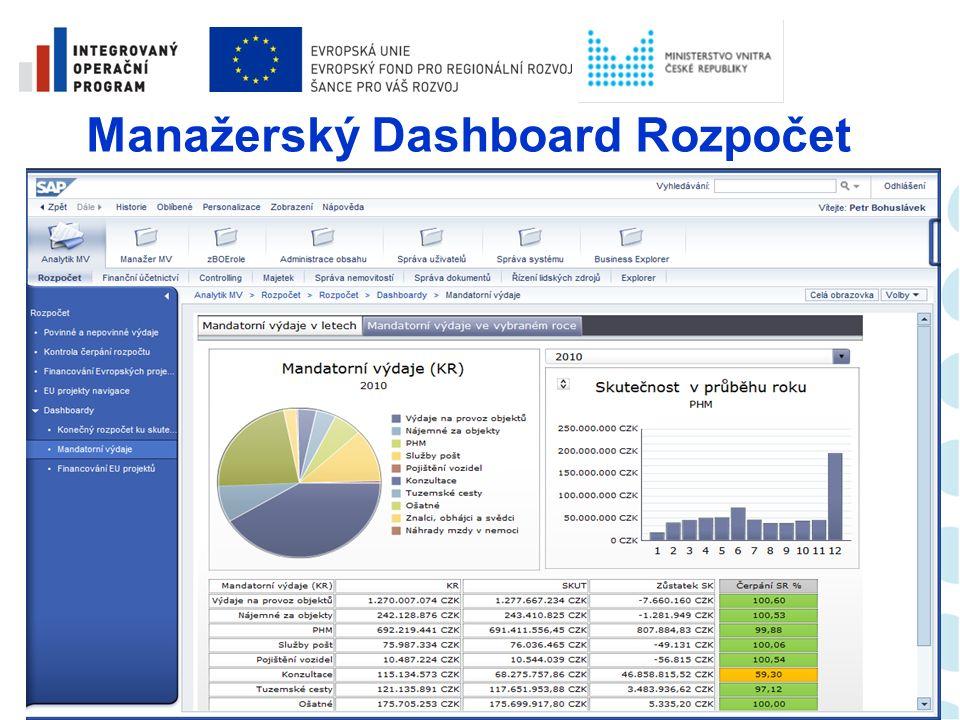 Analytický report – Rozpočet