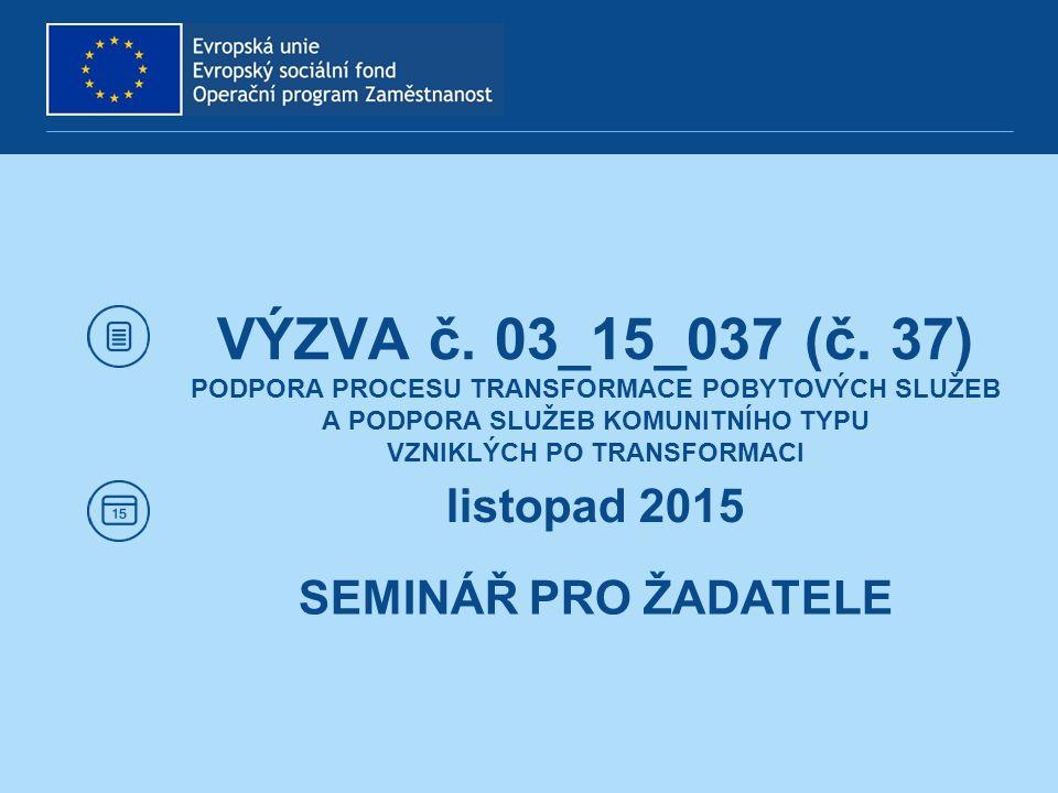 ÚZEMNÍ ZPŮSOBILOST Programová oblast a území dopadu: ČR bez hl.