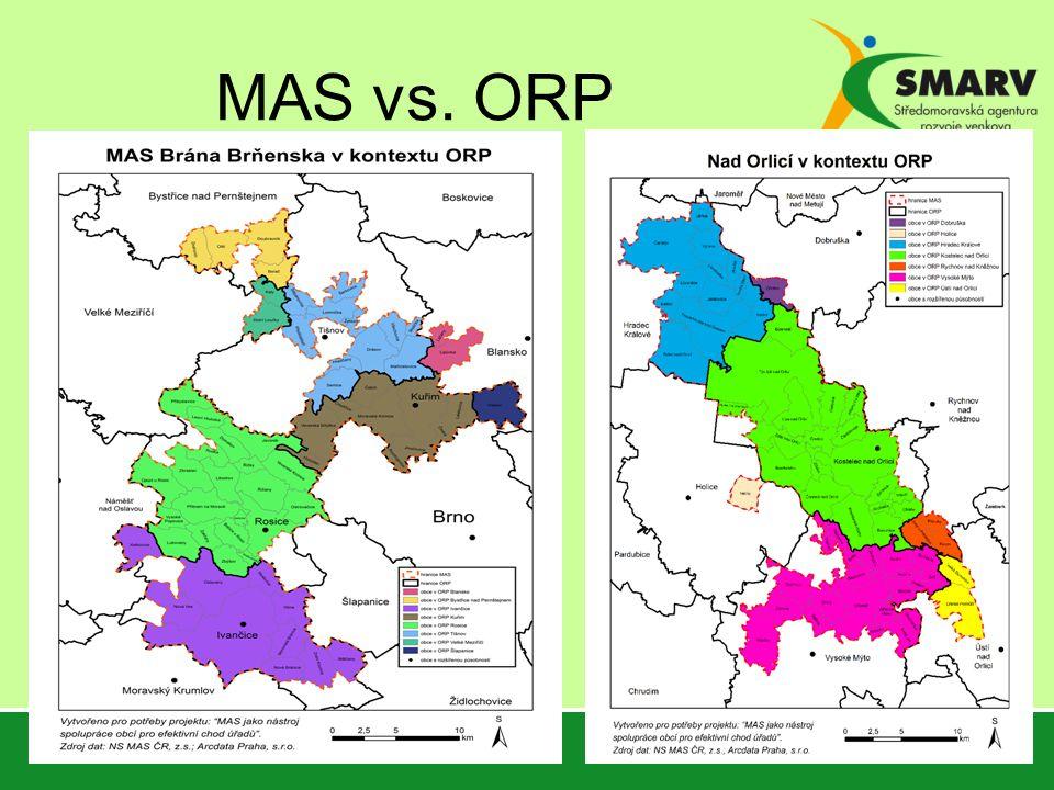 MAS vs. ORP