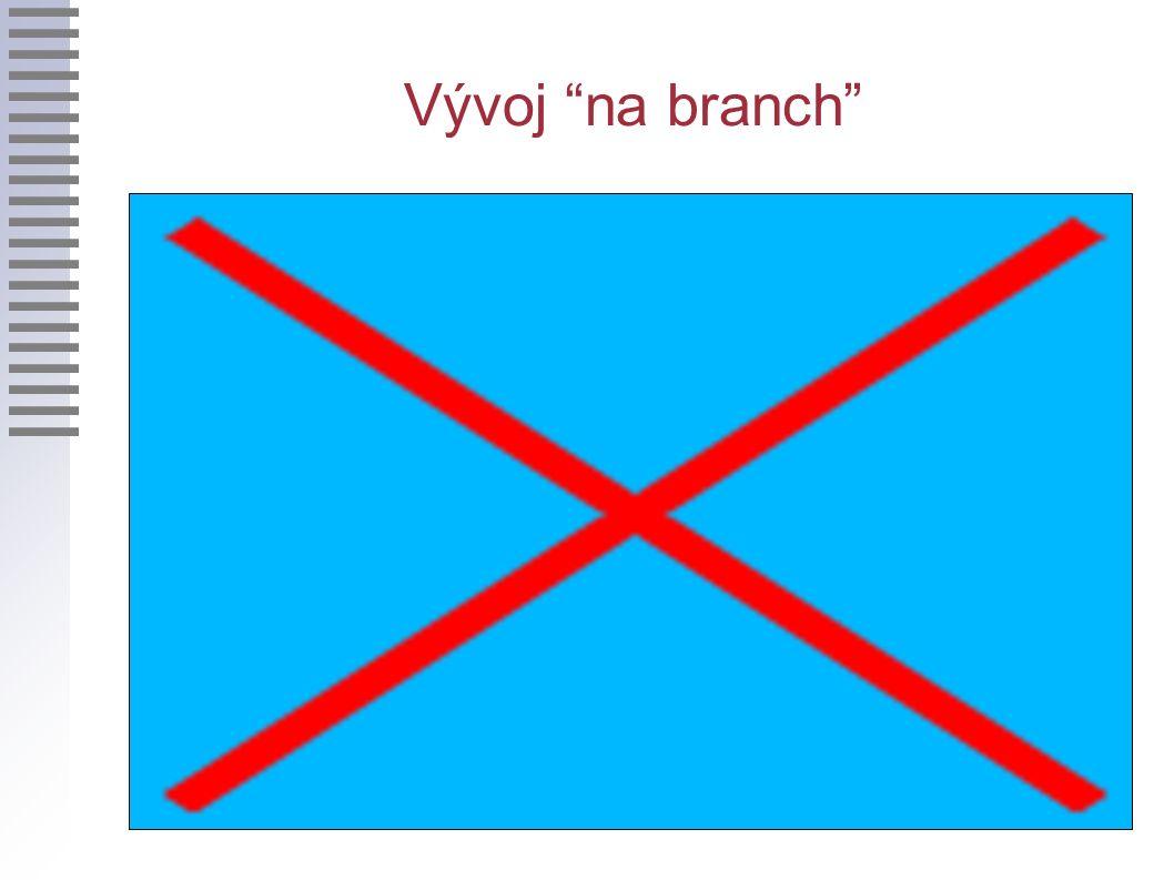 Vývoj na branch
