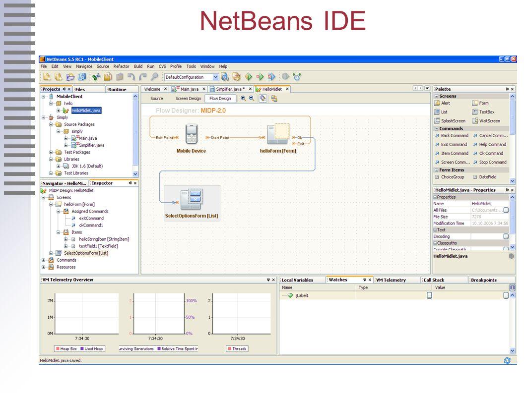 NetBeans IDE 2.