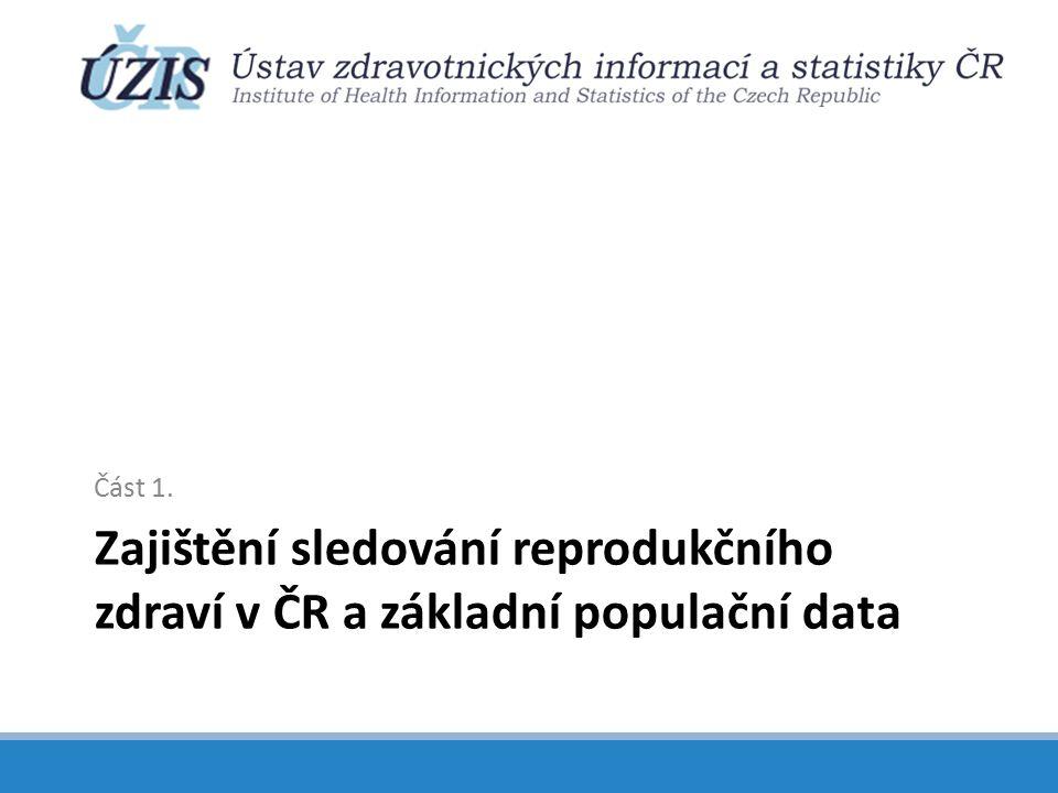 Zastoupení věkové skupiny 65+ v populaci ČR a index stáří v letech 1990 - 2101 Zdroj: ČSÚ, Demografická příručka ČR, 2013; Projekce obyvatelstva České republiky do roku 2100 Podíl osob ve věku 65 a více let byl v roce 2013 16,8 %.