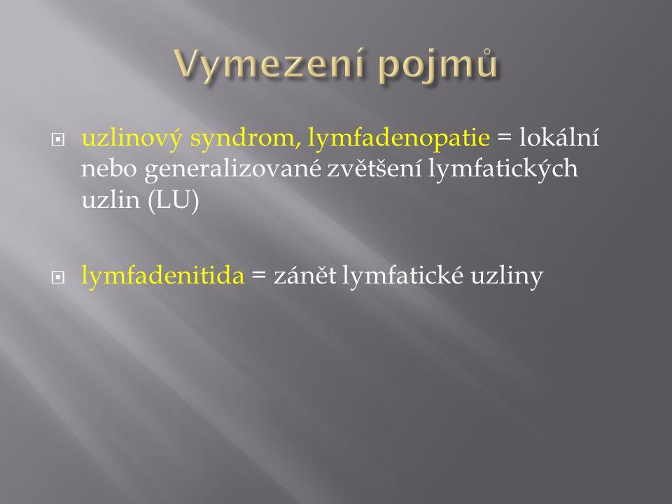  původce: prvok Toxoplasma gondii, pozření oocyst  klinický obraz: často subklinicky, lymfadenopatie, horečka, malátnost, noční pocení, myalgie, bolesti v krku, bolesti břicha při retroperitoneální a mesenteriální lymfadenopatii, postižení sítnice (chorioretinitida), makulopapulární exantém, postižení CNS (křeče, parézy, psychické změny)  zavažné onemocnění u plodů, novorozenců a imunokompromitovaných (deficit T-buněčné imunity, hematologické malignity, transplatace kostní dřeně a orgánů, AIDS)  diagnostika: přímý průkaz T.