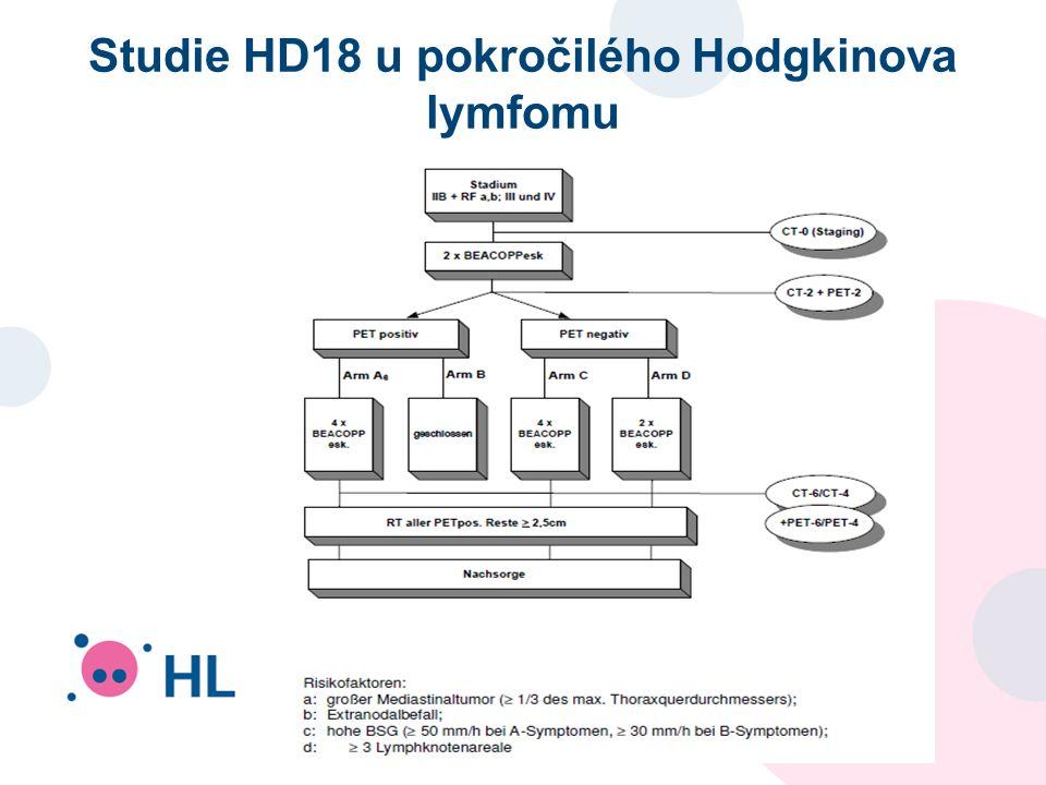 Studie HD18 u pokročilého Hodgkinova lymfomu