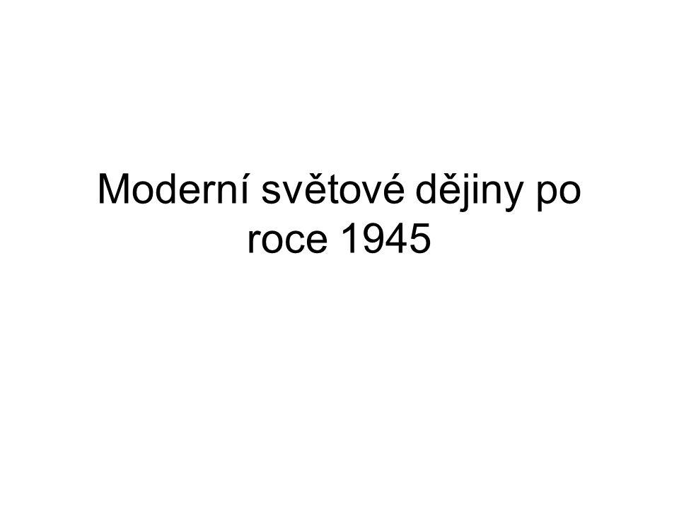 Moderní světové dějiny po roce 1945