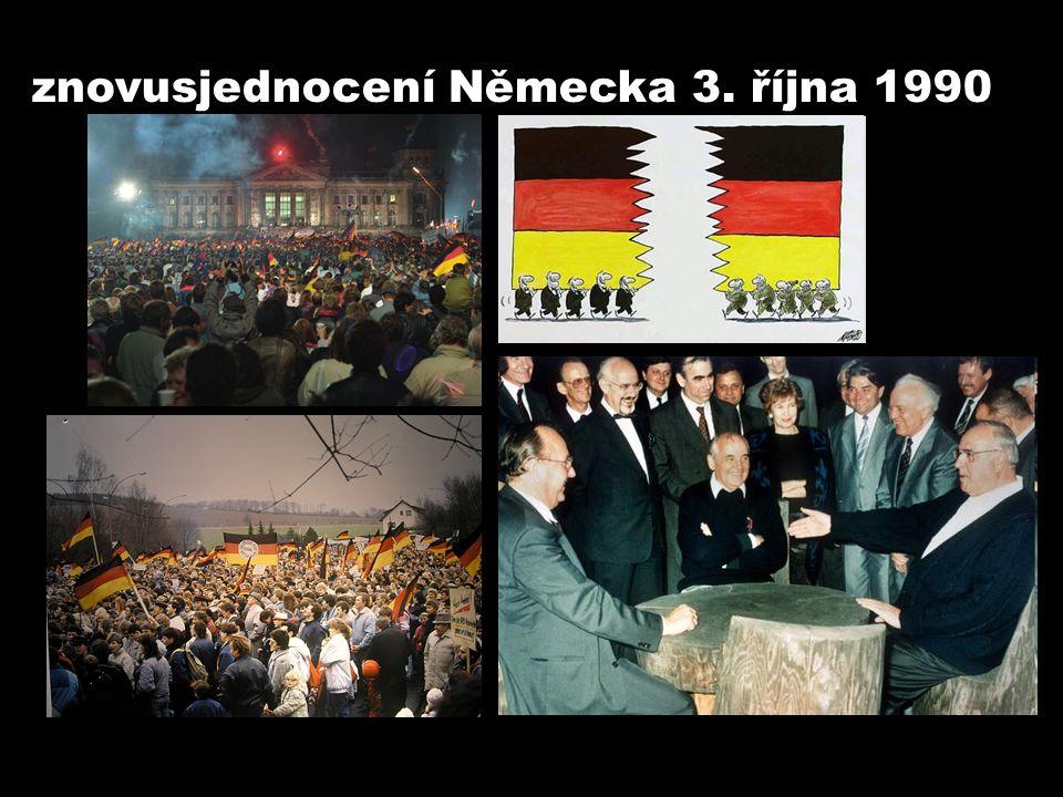 9. listopadu 1989 PÁD BERLÍNSKÉ ZDI