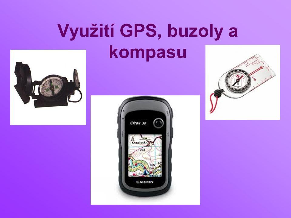 Využití GPS, buzoly a kompasu
