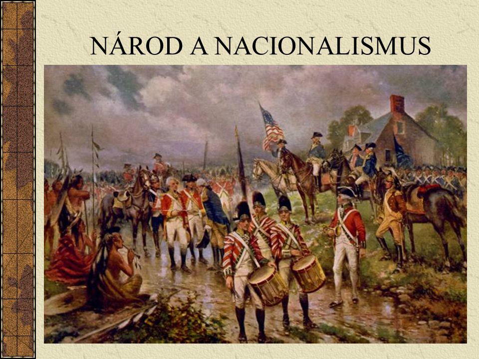 NÁROD A NACIONALISMUS