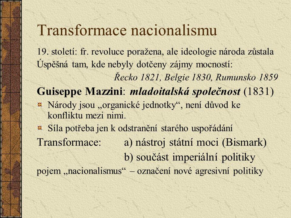 Transformace nacionalismu 19. století: fr.