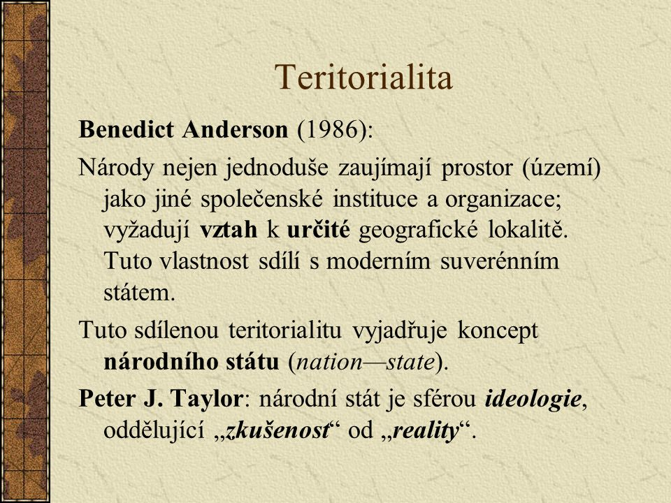 Je vznik nacionalismu nutný.Nacionalisté: nacionalismus je univerzální a proto nutný.