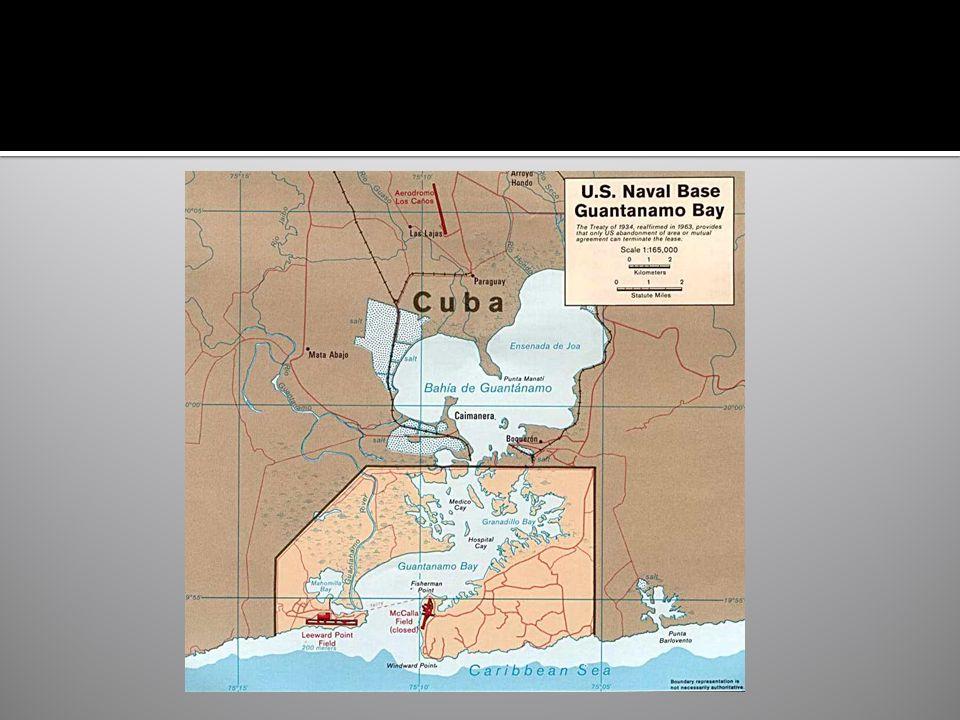  Rozloha: 117,6 km²  pevnina :49 km²  moře :38,8 km²  bažiny :29,4 km²  Kapacita cca 7 tisíc příslušníků námořních sil USA  Ohraničení: 28 km  2 letiště  Přístav : pro cca 40 lodí  Pitná voda Macdonald s