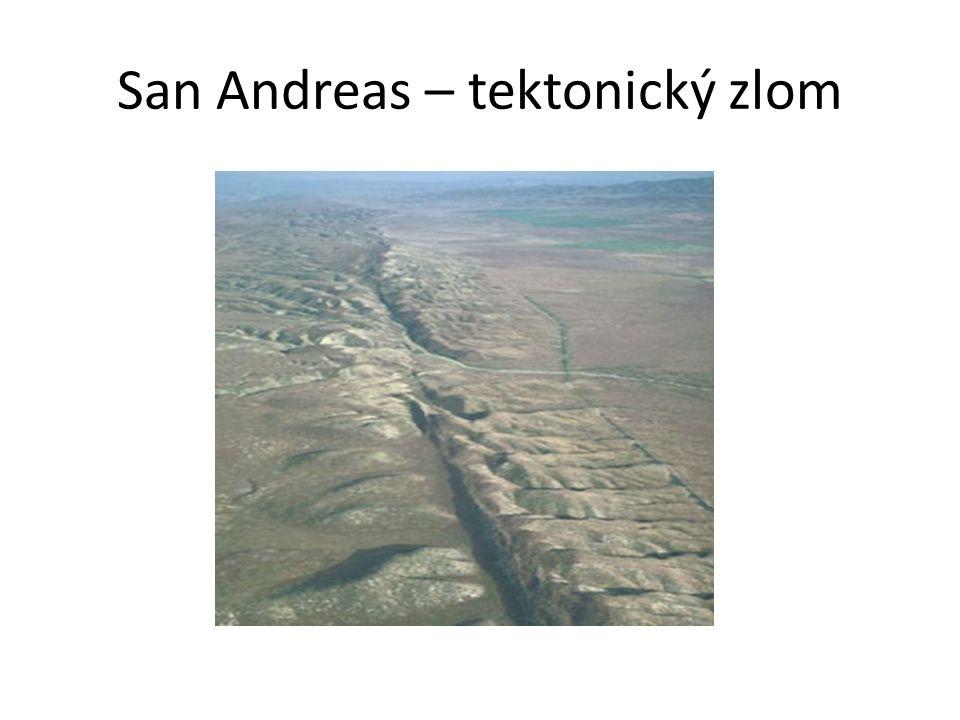 San Andreas – tektonický zlom
