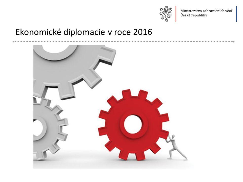 Ekonomické diplomacie v roce 2016
