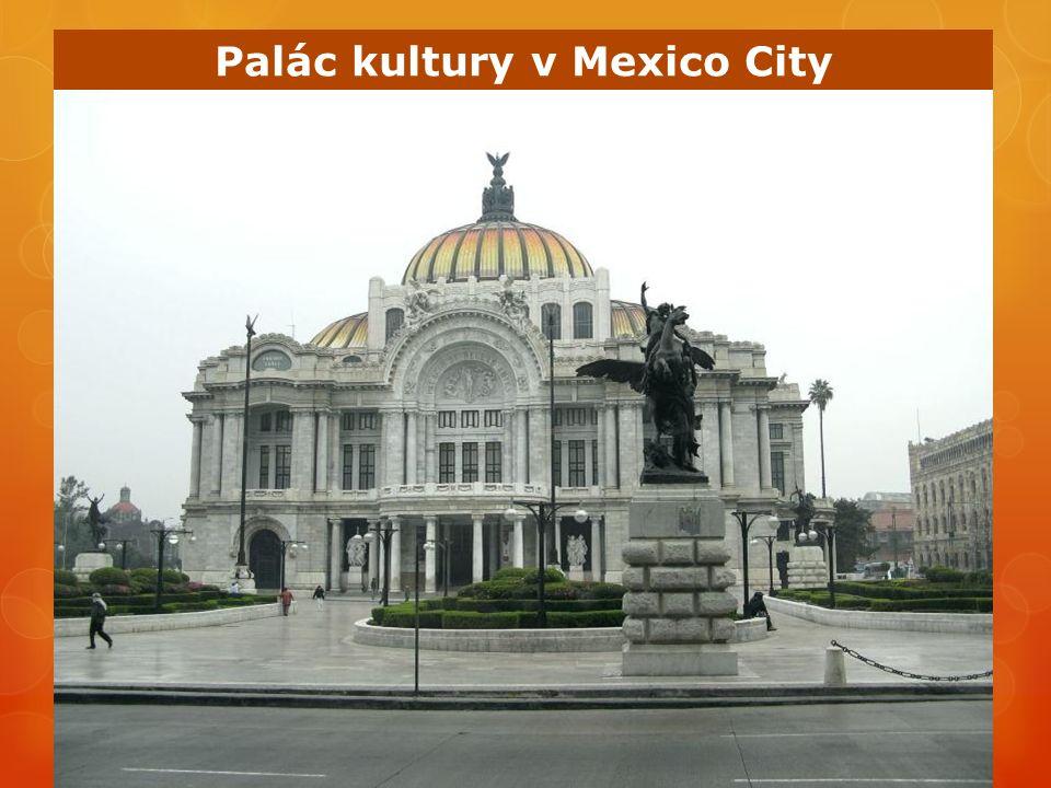 Palác kultury v Mexico City