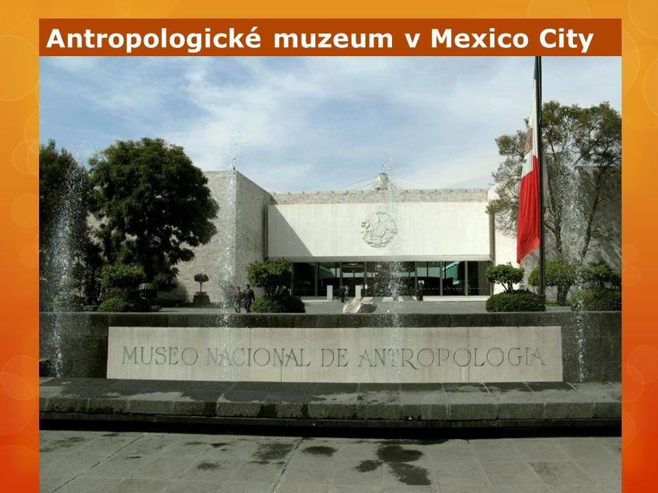 Antropologické muzeum v Mexico City