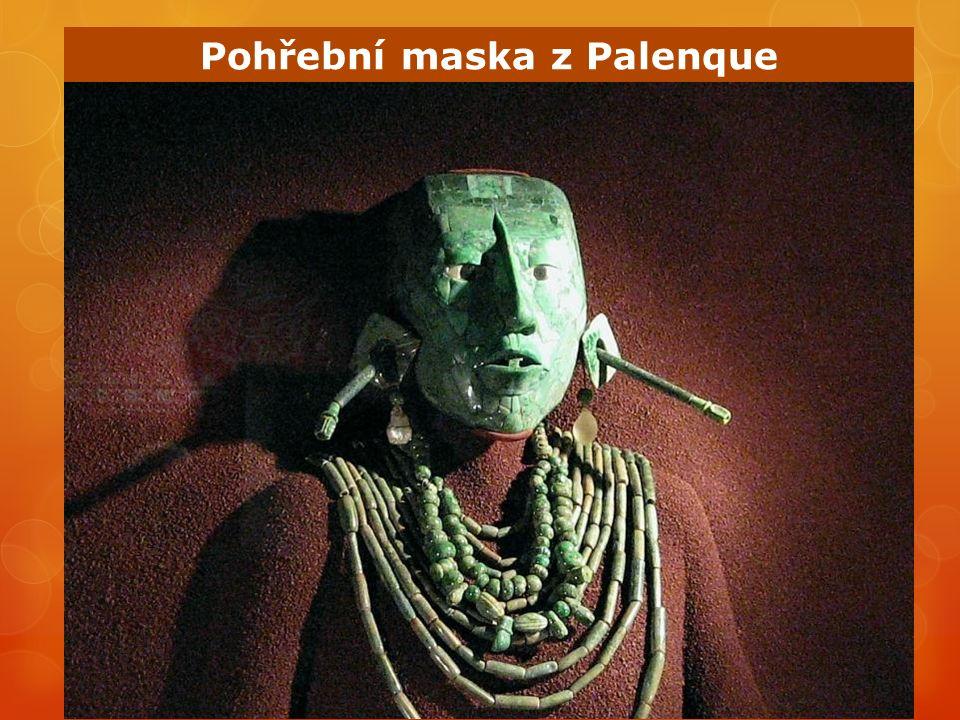 Pohřební maska z Palenque