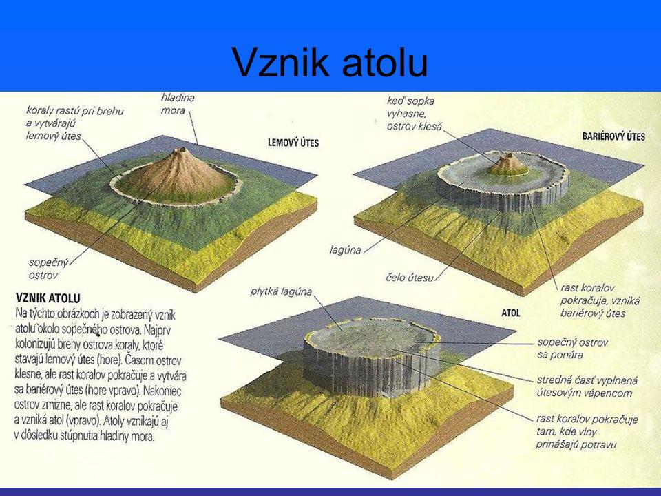Vznik atolu