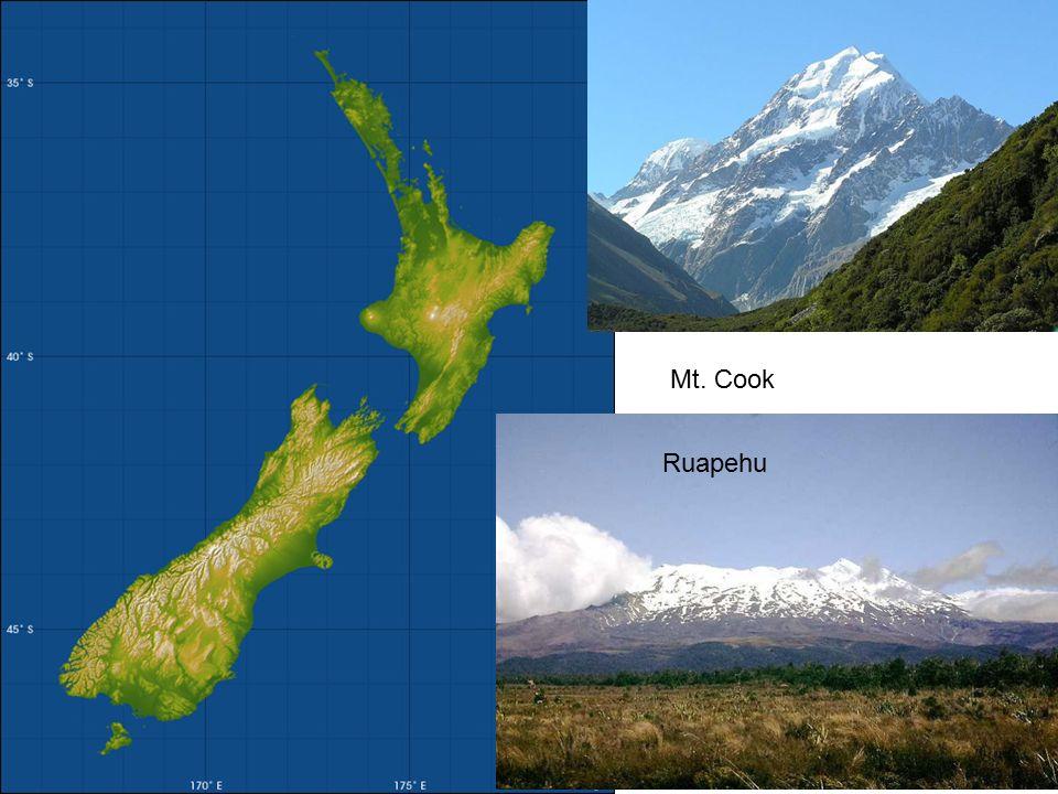 Mt. Cook Ruapehu