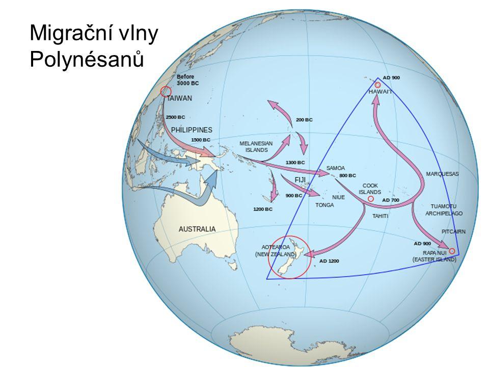 Migrační vlny Polynésanů