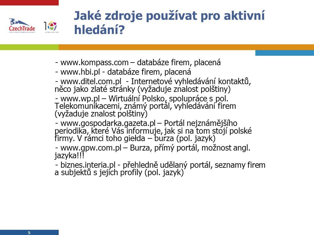 26 Pobočka (oddział) Povinnosti spojené se založením pobočky - v označení zastoupení používat originální název zahr.