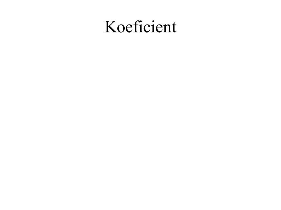 Koeficient