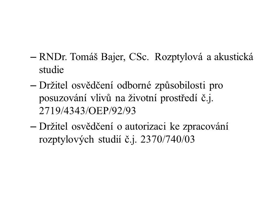 – RNDr.