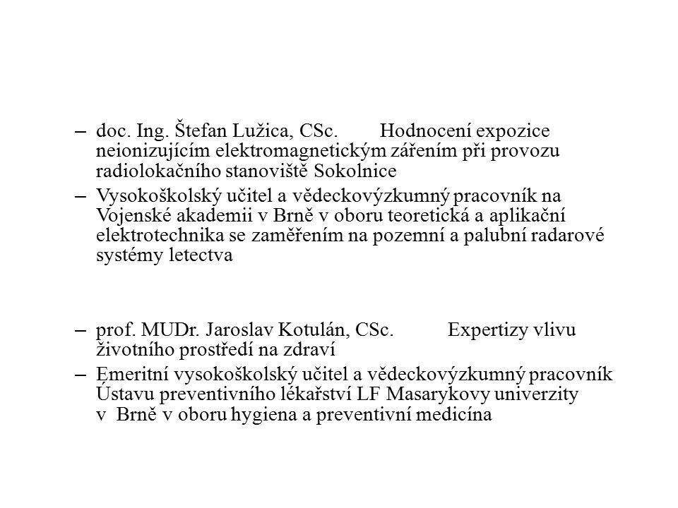 – doc. Ing.