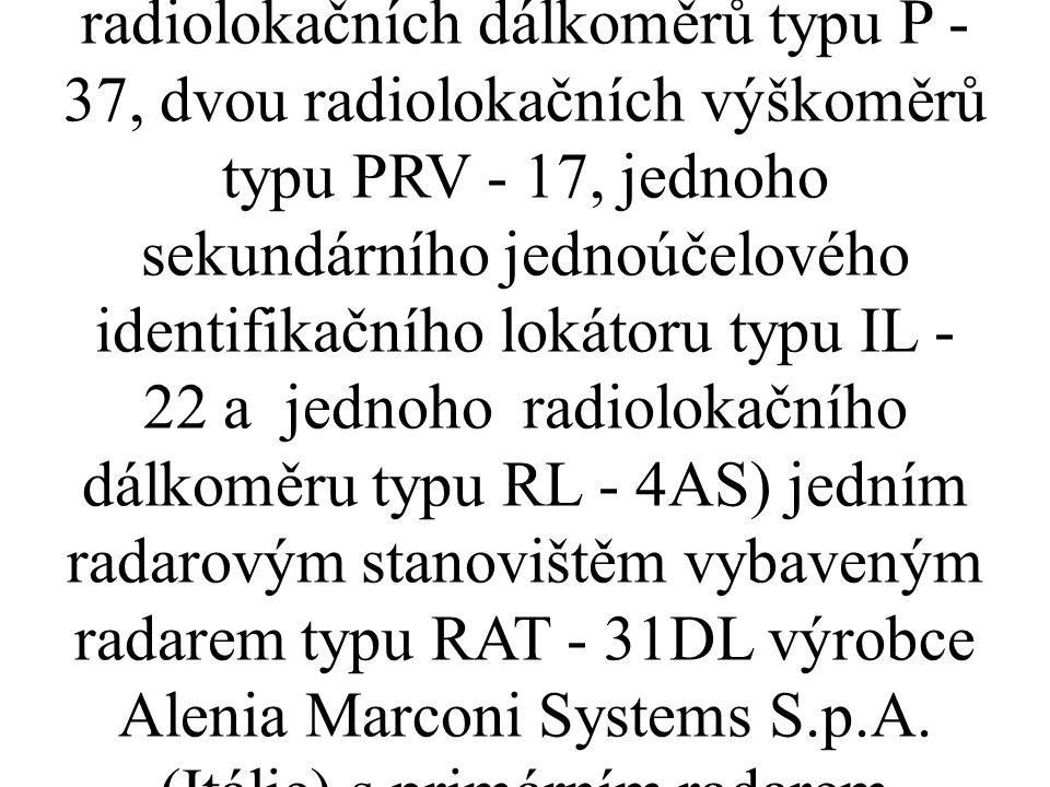 Předmětný investiční záměr má být realizován ve stávajícím vojenském areálu VÚ 6950 Sokolnice v prostoru současného radiolokačního stanoviště na k.ú.