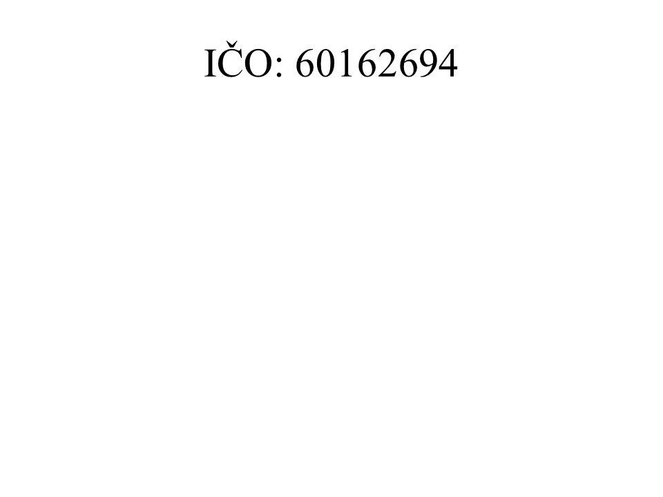 IČO: 60162694