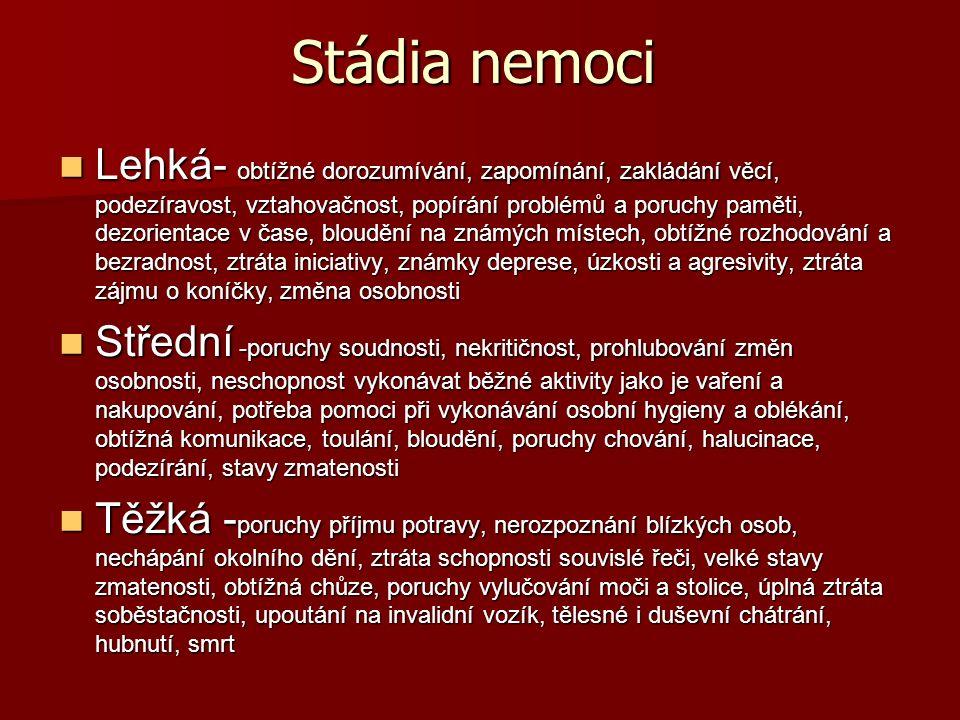 Zdroje http://cs.wikipedia.org/wiki/Alzheimerova_chor oba http://cs.wikipedia.org/wiki/Alzheimerova_chor oba http://www.wikiskripta.eu/index.php/Alzheimer ova_choroba http://www.wikiskripta.eu/index.php/Alzheimer ova_choroba http://www.cilena-lecba.cz/alzheimerova- choroba http://www.cilena-lecba.cz/alzheimerova- choroba http://cs.wikipedia.org/wiki/Spiroch%C3%A9ty http://www.ncbi.nlm.nih.gov/pmc/articles/PMC 3171359/?tool=pubmed