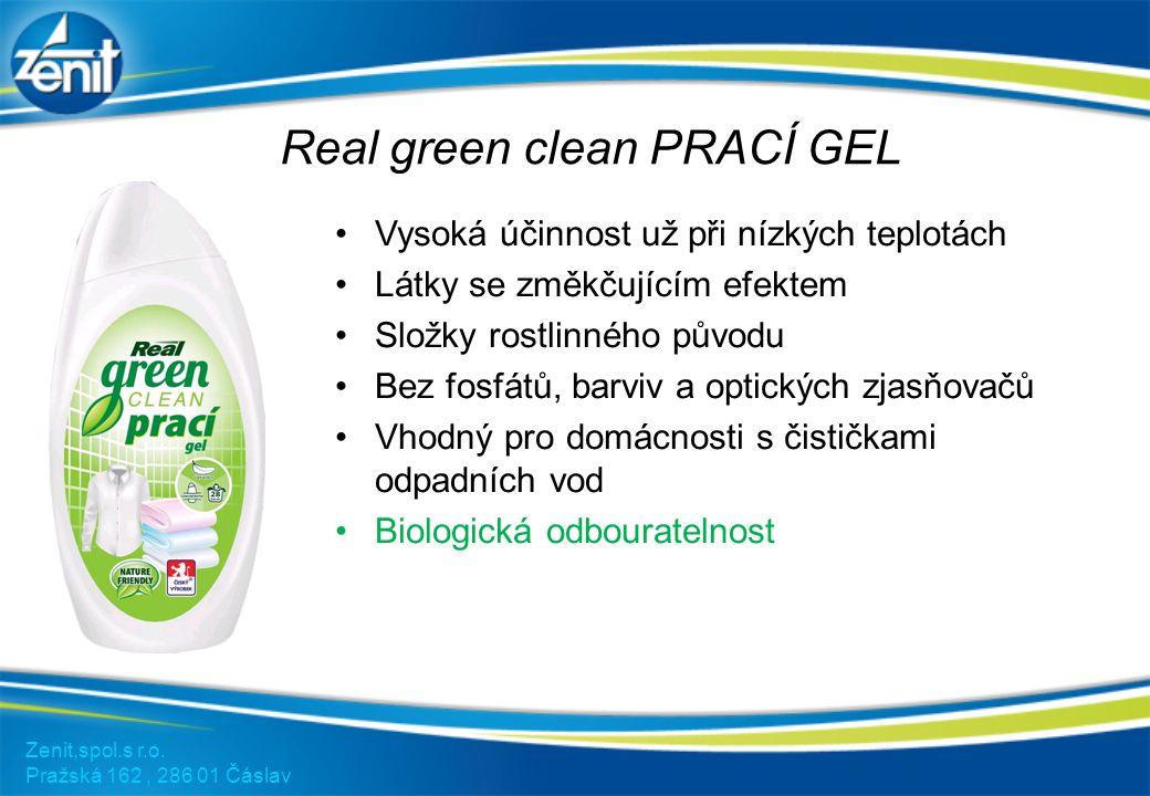 Real green clean tablety do myčky 40ks Zenit,spol.s r.o.