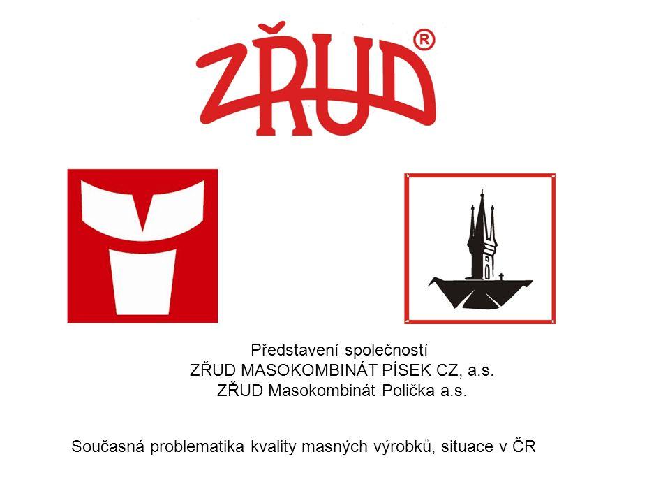 Představení společností ZŘUD MASOKOMBINÁT PÍSEK CZ, a.s.